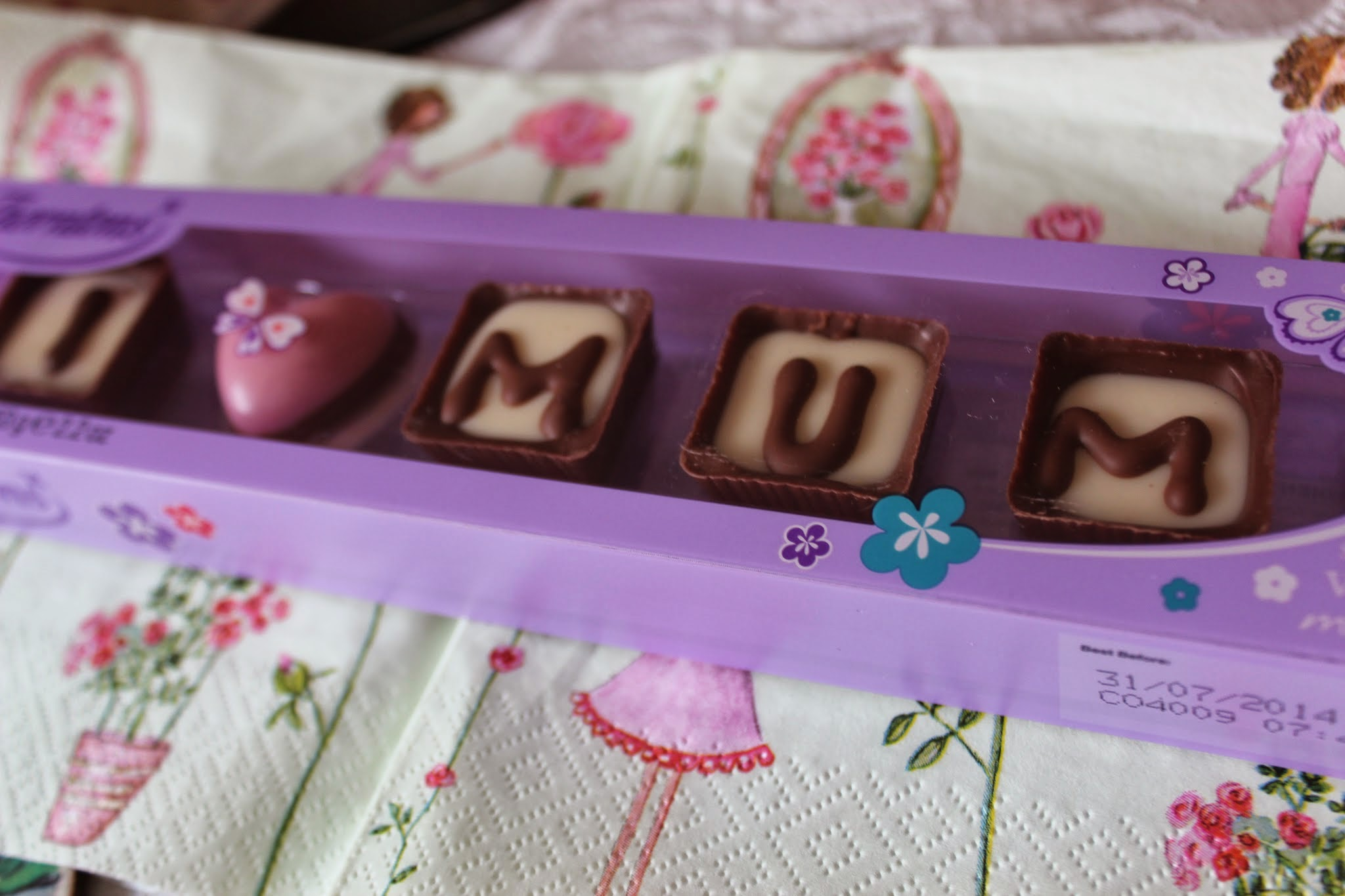 mother's day chocolates