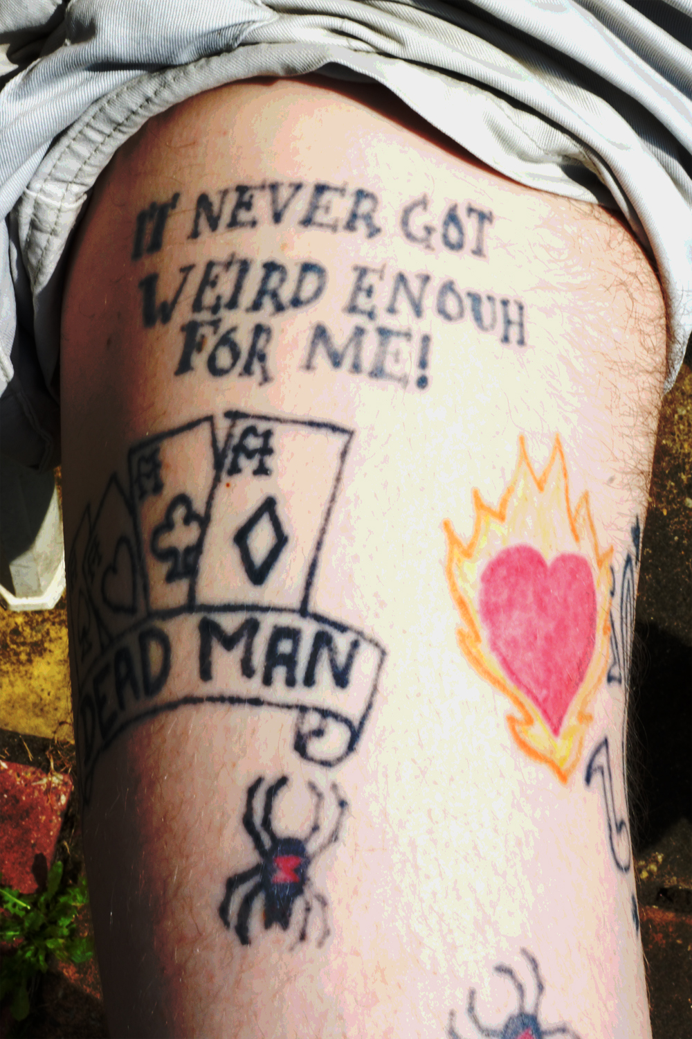 Get some young ben tattoo genius for Hunter s thompson tattoos