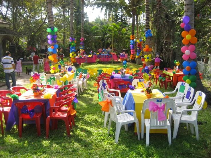Mundial globos decoracion de dora la exploradora for Casa al dia decoracion