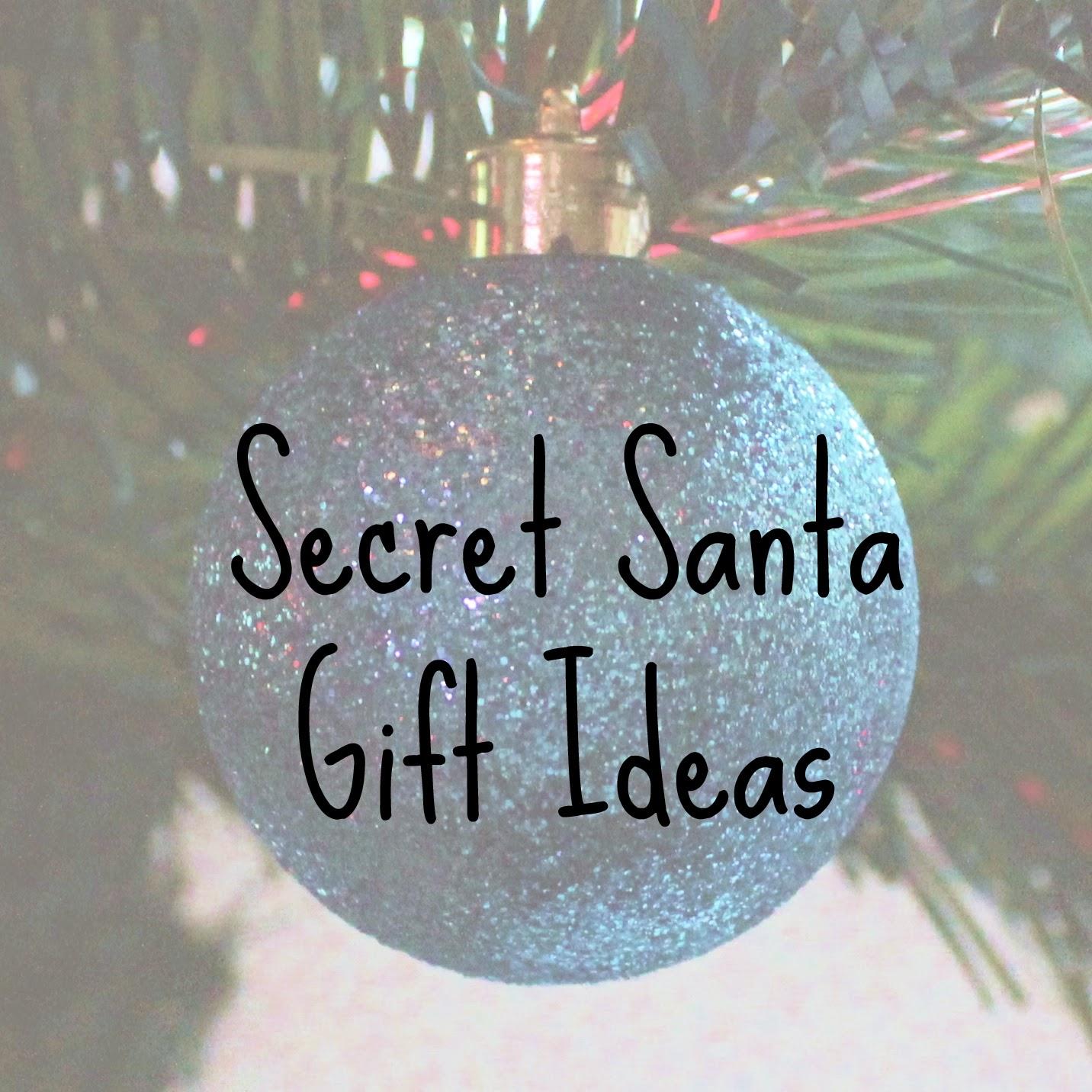Secret Santa Gift Ideas 2014 | The Inelegant Wench