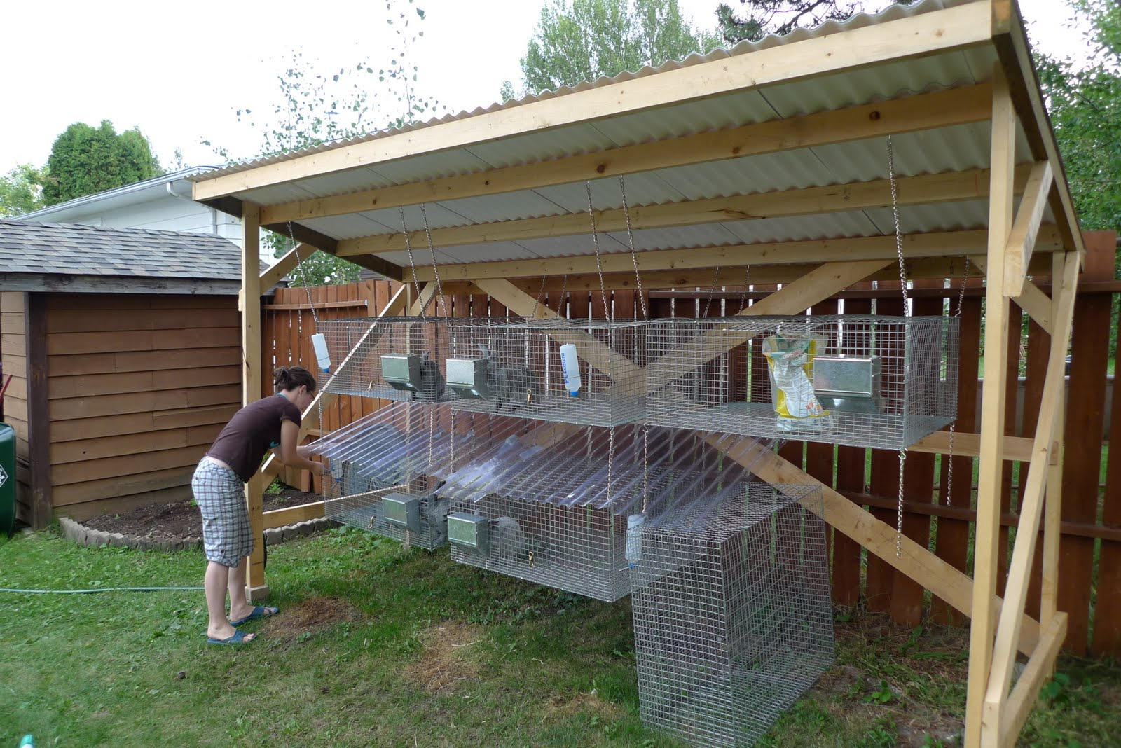Building a Rabbit Hutch