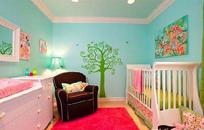 poco de imaginacin y dependiendo del gusto de los padres ya que los bebes no pueden elegir la habitacin lucir muy tierna pero a la vez muy moderna
