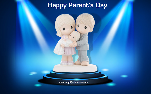 Parents Day Greeting Ecard