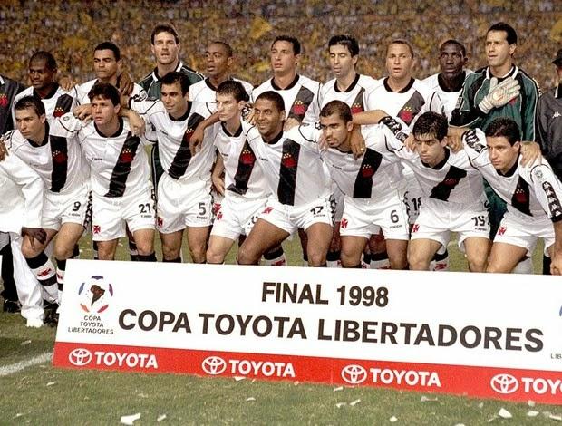 Vasco - Libertadores 1998