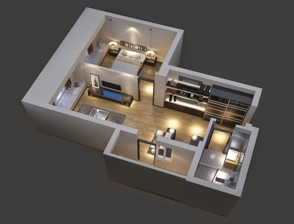 3D Floor Plan 3Ds Max Vray Www3dfloorplanzcom ARCH House