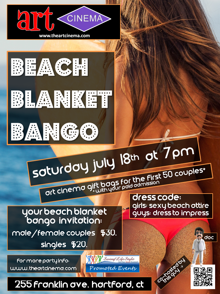 Next Art Cinema Party! Beach Blanket Bango