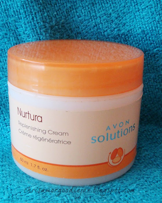 Avons Solutions Nurtura Skin Replenishing Cream