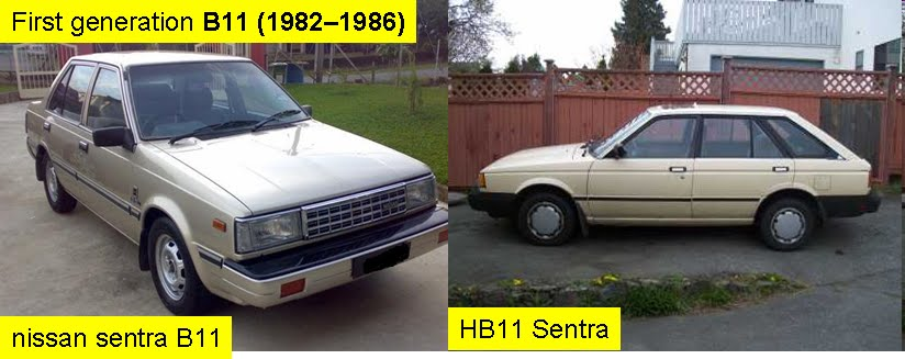 Fire Starting Automobil: Generasi Nissan Sentra