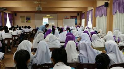 Ceramah Sains PT3 di SMK Bandar Baru Darulaman, Kedah