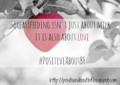 #PositiveAboutBF, breastfeeding blog, breastfeeding a newborn