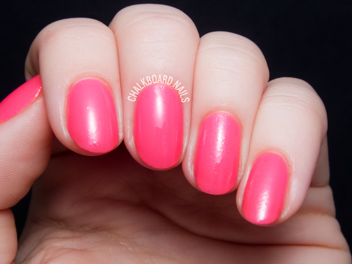 Serum No. 5 I Gleam In Pink via @chalkboardnails