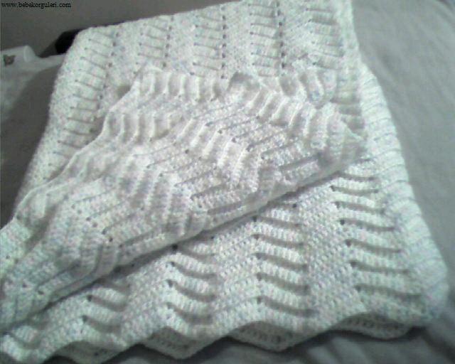 en güzel bebek battaniye modelleri - 5