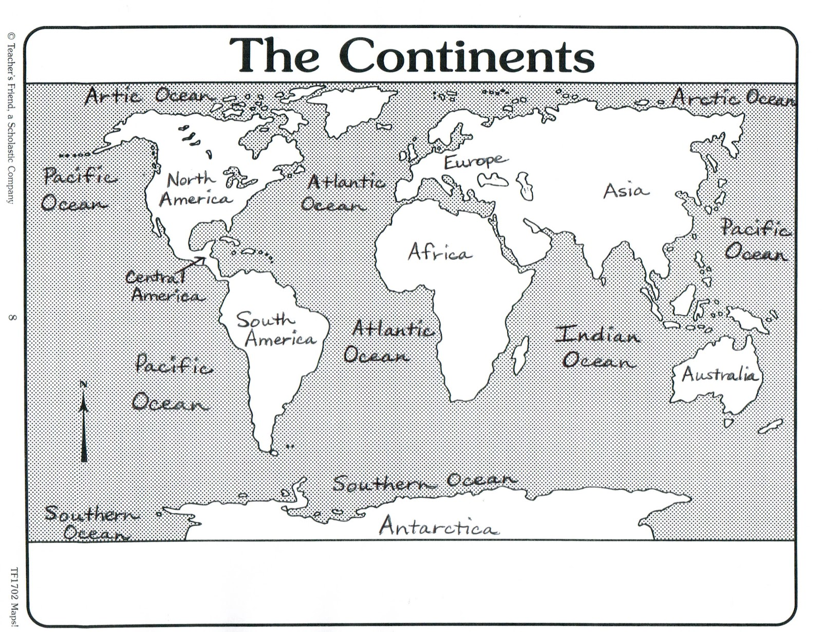 Blank world map with countries labeled the continent map was blank