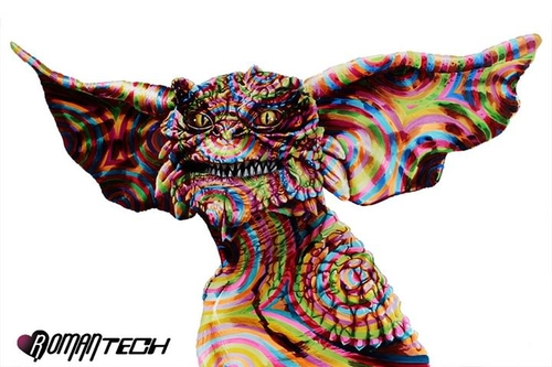 06-Gremlin-Joshua-Roman-Rainbow-Portraits-Drawings-Illustrations-www-designstack-co