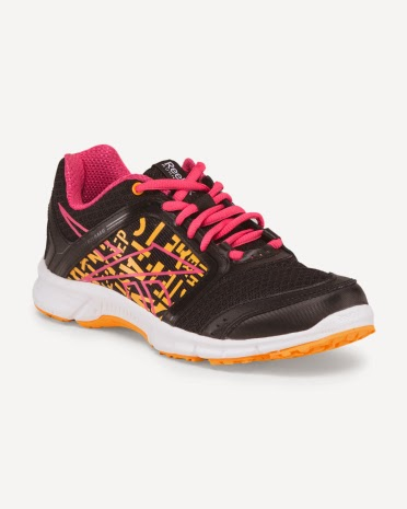 Style Athletics Reebok Workout Shoes Pink Black Orange