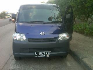 Pengiriman Grand Max B 9603 KAG Jakarta ke Tarakan