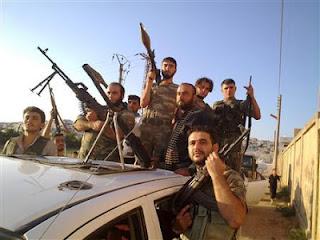 la proxima guerra combatientes de libia entre los rebeldes ejercito sirio libre