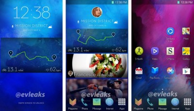 Inikah Interface Baru Samsung Galaxy S5?