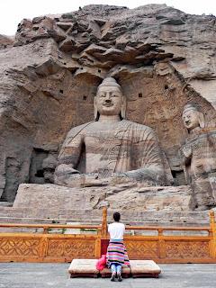 Buda tallado en Datong China