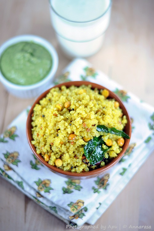 Annarasa ~ Essence of Food: Lemon Quinoa | Lemony Quinoa Pilaf