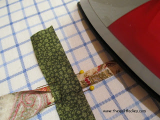 how to make bias tape with just an iron