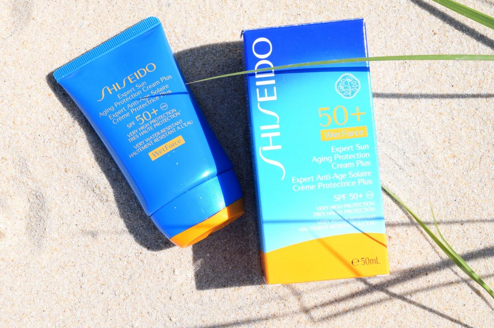 Shiseido Expert Sun Aging Protection Cream SPF50+