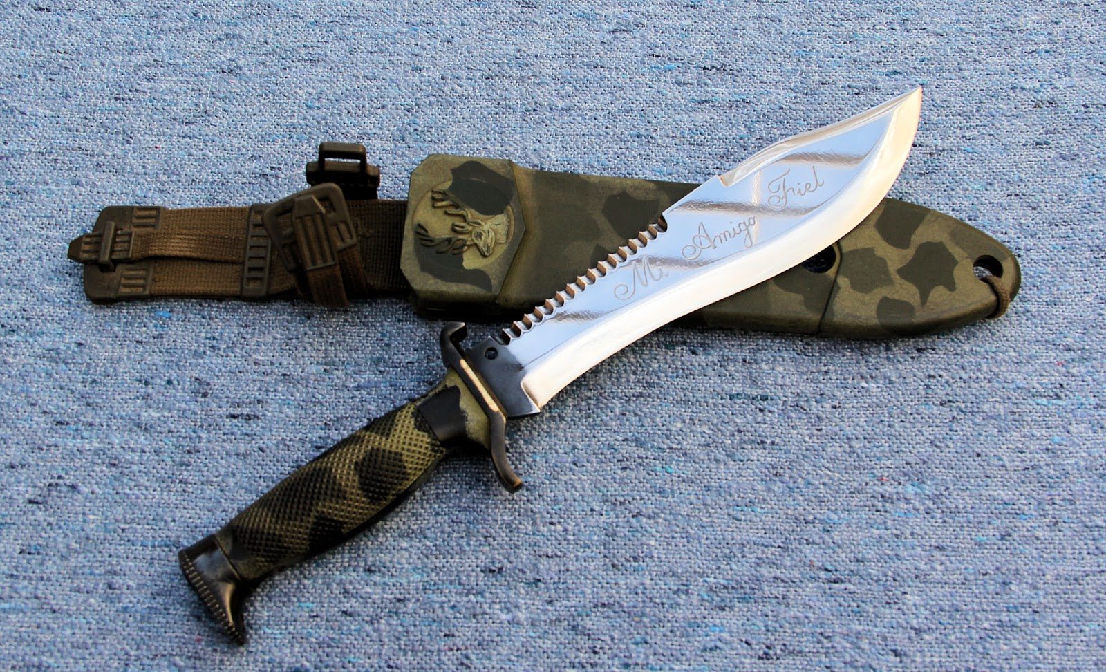 Baco tacticos cuchillos aitor el montero mi amigo fiel for Como pulir un cuchillo