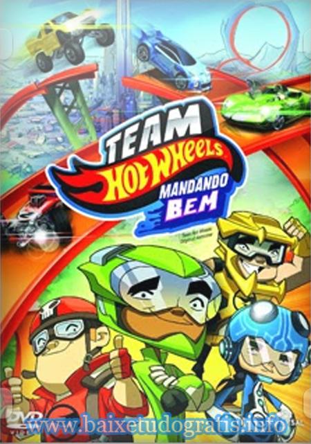 Team Hot Wheels: Mandando Bem – Dublado (2014)