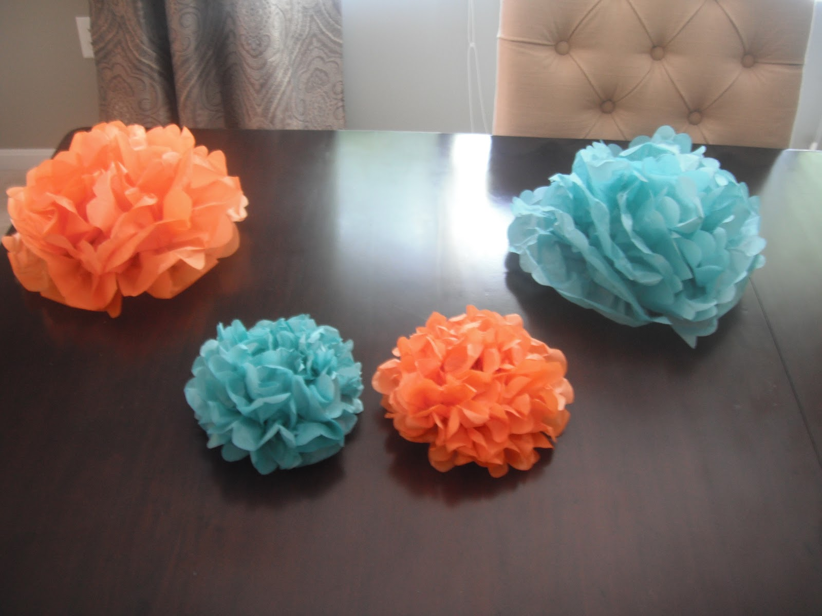 Seconds To Change Tissue Paper Flowers