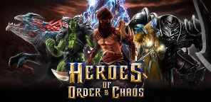 Download Android Game Heroes of Order & Chaos + data APK 2013 Full Version