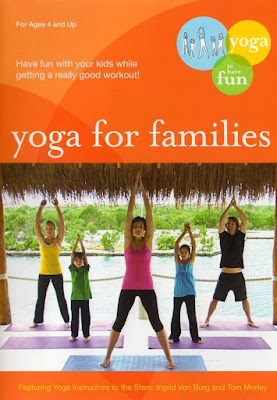 Family Yoga DVDs #yoga #yogakids