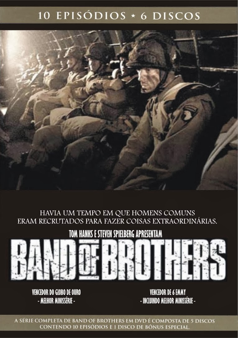 Irmãos de Guerra (Band of Brothers): 1ª Temporada Completa – Legendado