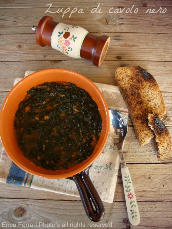Ricetta della zuppa di cavolo nero