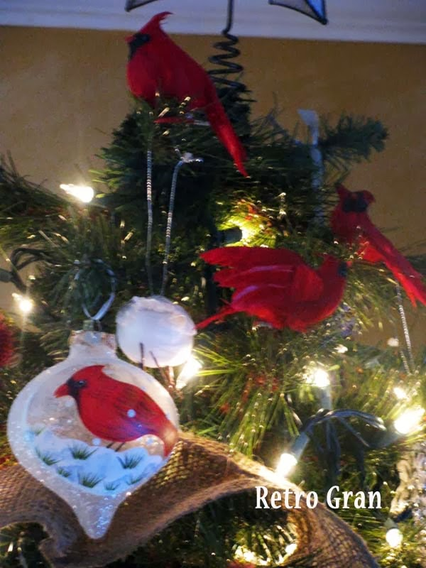 Bird Christmas Tree