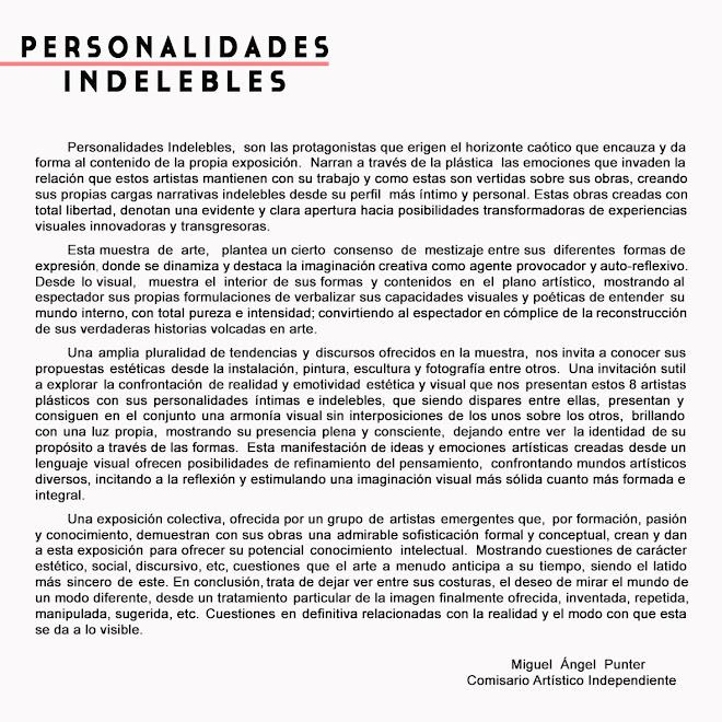 TEXTO - PERSONALIDADES INDELEBLES