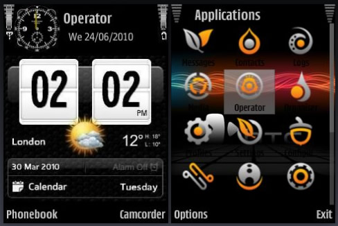 Android Theme : Htc Home Android