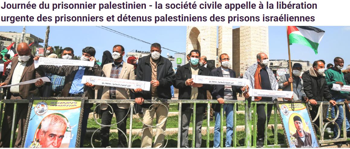 Peuple Palestinien et Paix au Proche-Orient