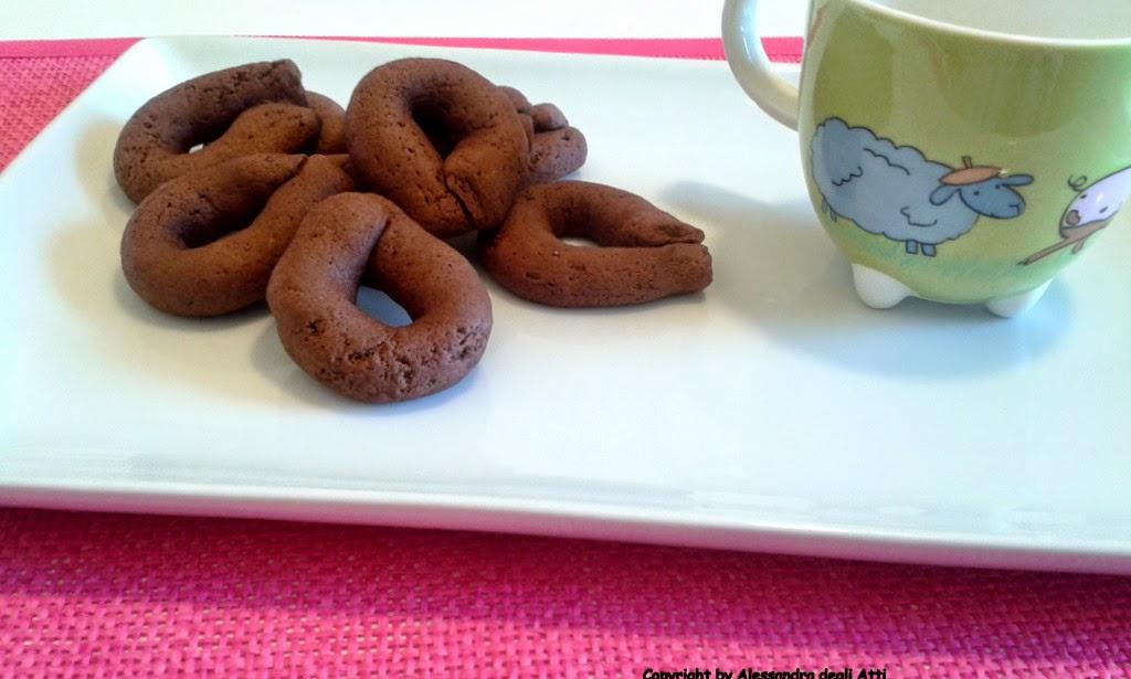 abbracci di cioccolato senza lattosio