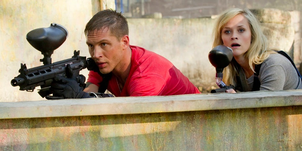 Tom Hardy e Reese Witherspoon em GUERRA É GUERRA! (This Means War)
