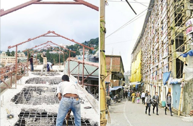 Darjeeling municipality starts demolishing illegal structures
