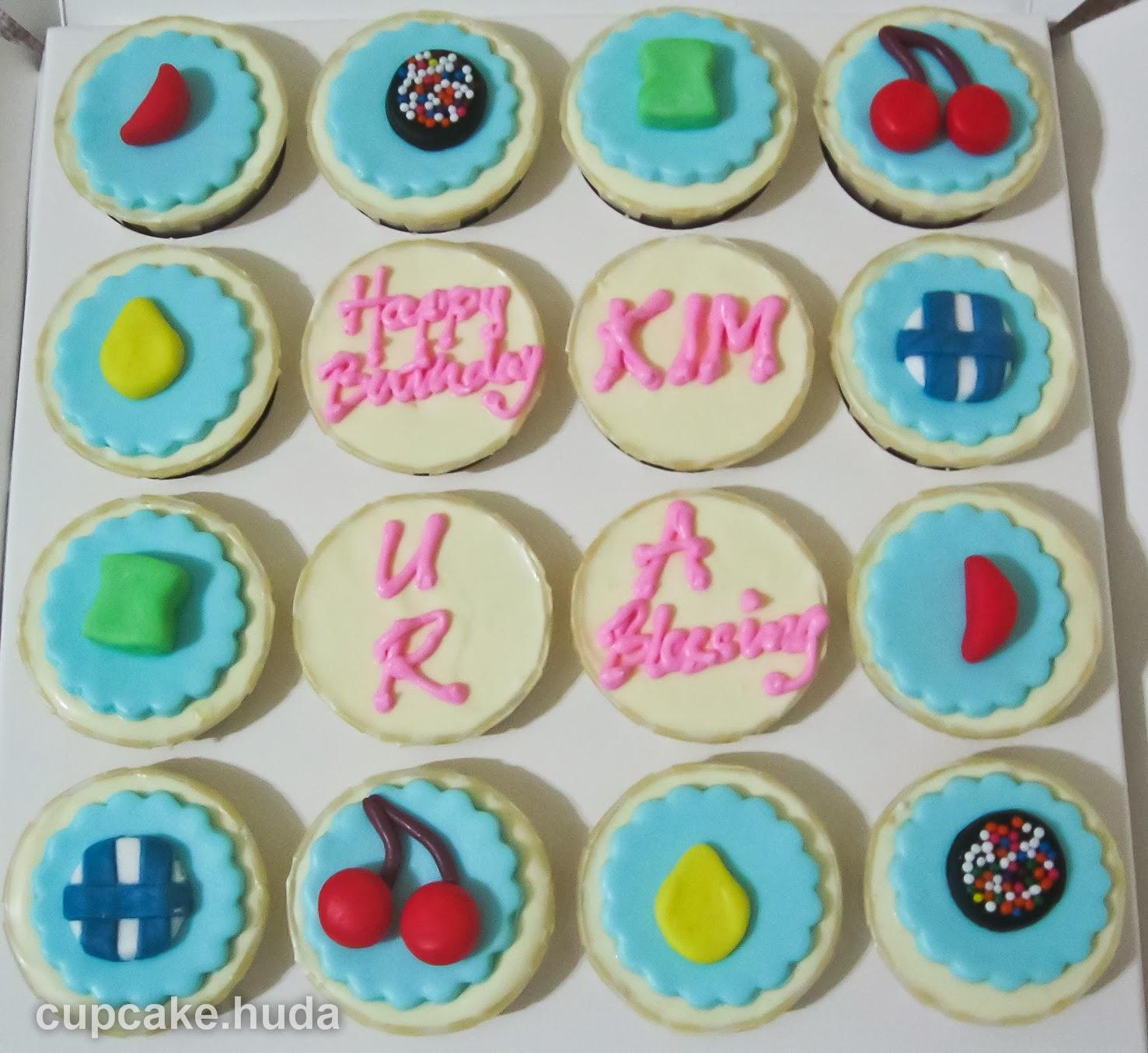 Candy Crush Theme Happy Birthday Kim