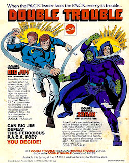 Mattel's Big Jim PACK Comic Book Ad