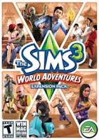 Cover The Sims 3: World Adventures | www.wizyuloverz.com