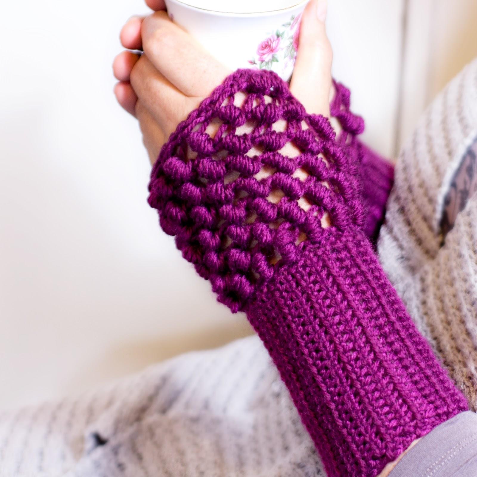 Fingerless gloves crochet pattern for beginners - Hope You All Enjoyed This Pattern