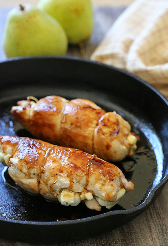 stuffed chicken breast wrapped chicken breast stuffed brie and sage ...