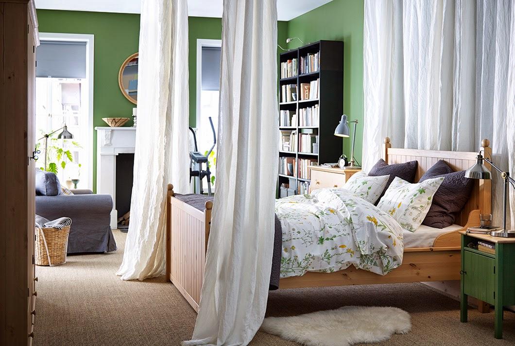conseils déco et relooking: 20 chambres Ikea avec un design parfait
