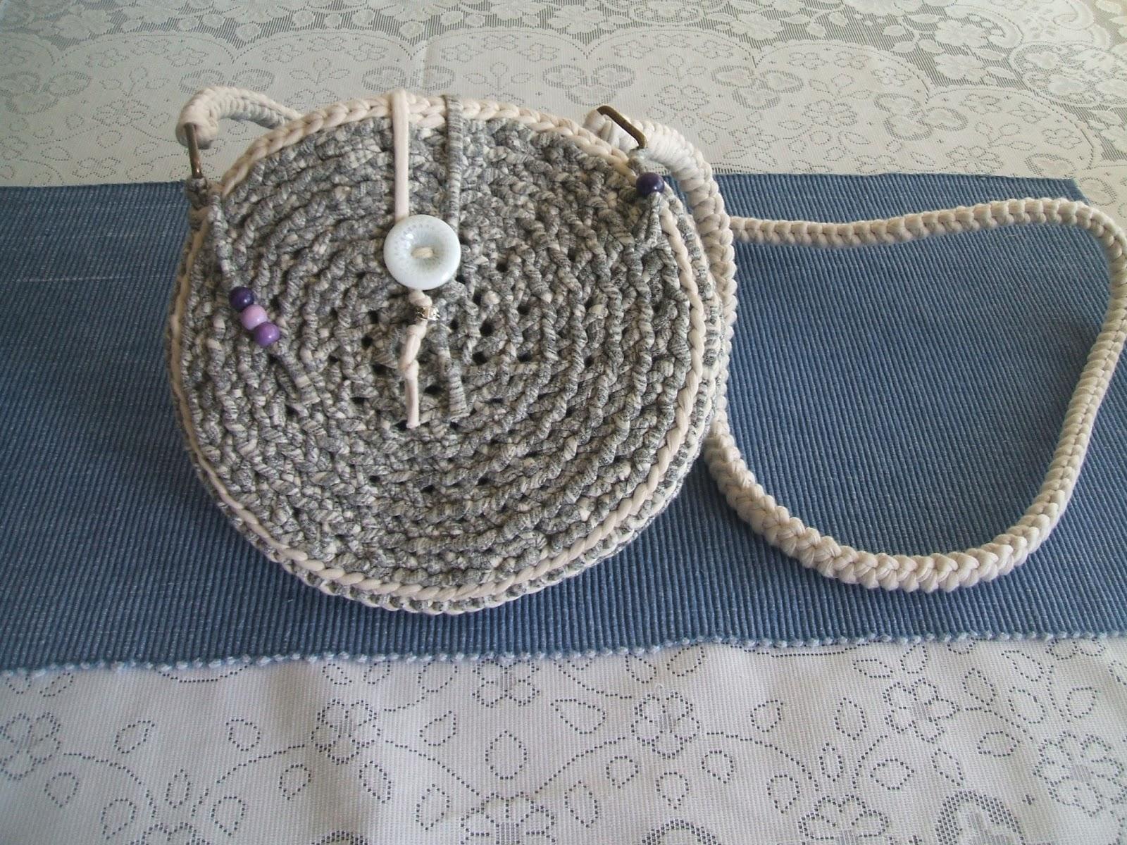 Crochet De Redondo Mis Bolso Cadenas Pequeño qzYgR7