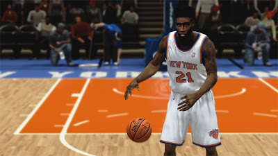 NBA 2K13 Iman Shumpert high-top fade flat top Hair