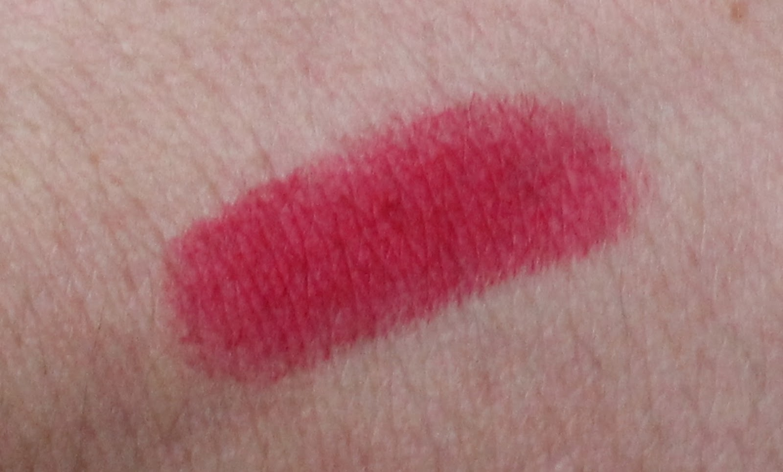 mac all fired up lipstick swatch