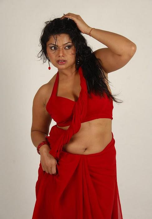 swathi varma ,armpit in red saree actress pics